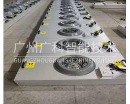 液晶产业洁净工厂FFU净化单元更换